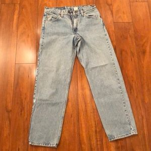 Vintage Levi's orange tab 550 relaxed tapered jean